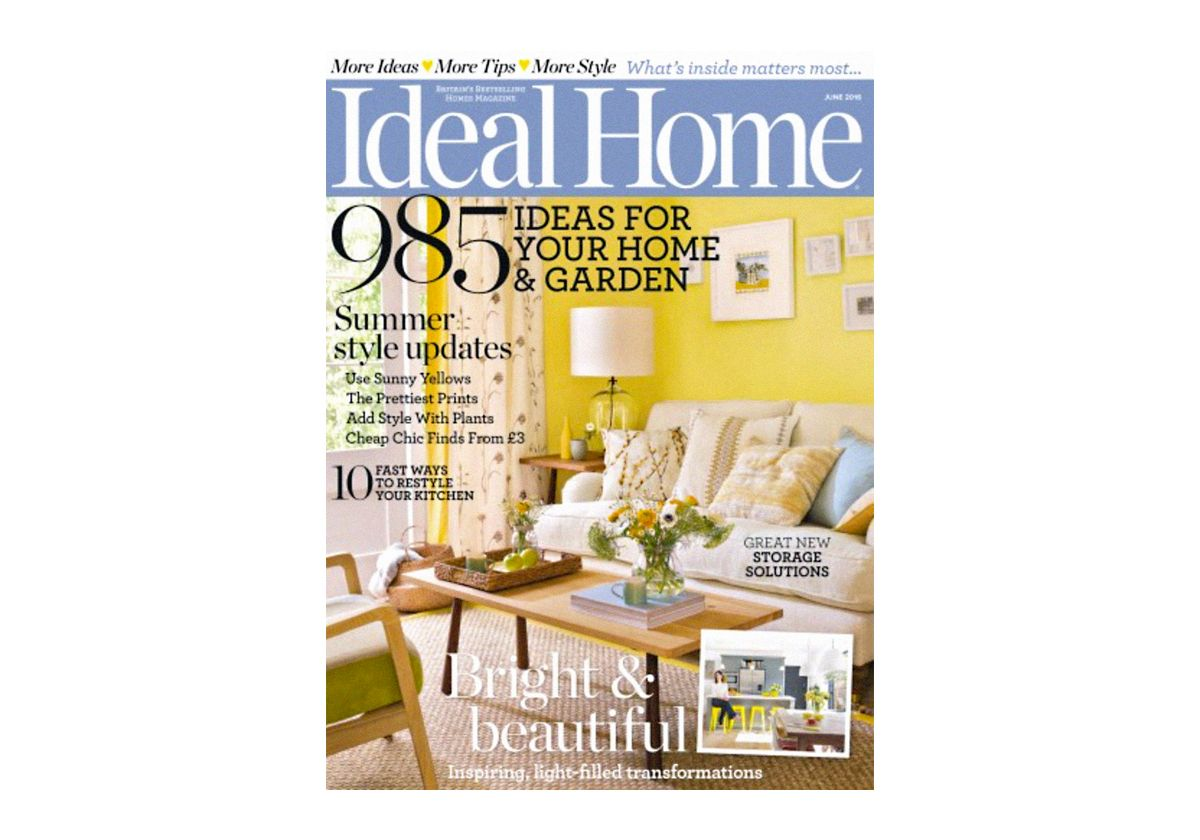 <h2>Ideal Home - Published June 2016</h2>