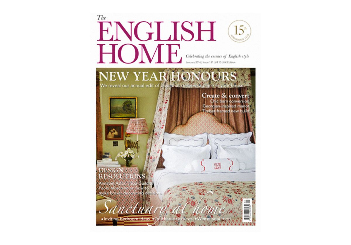 <h2>The English Home - Published January 2016</h2>